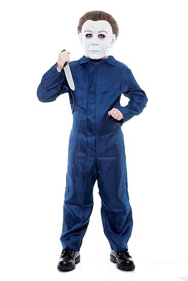 Halloween Michael Myers Costume.Paper Magic Group Michael Myers Jumpsuit Boys Costume