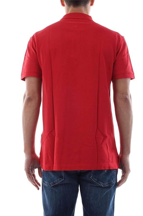 Tommy Jeans Polo Clasico Rojo Hombre XL Rojo: Amazon.es: Ropa y ...