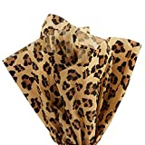 Leopard Print Tissue Paper - 120 Sheets - 20 x 30 inch Sheets
