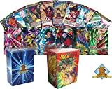 Dragon Ball Super 50 Card Lot! Random Rare Cards and 1 Dragon Ball Z Deck Box In Every Bundle! Includes Golden Groundhog Box!