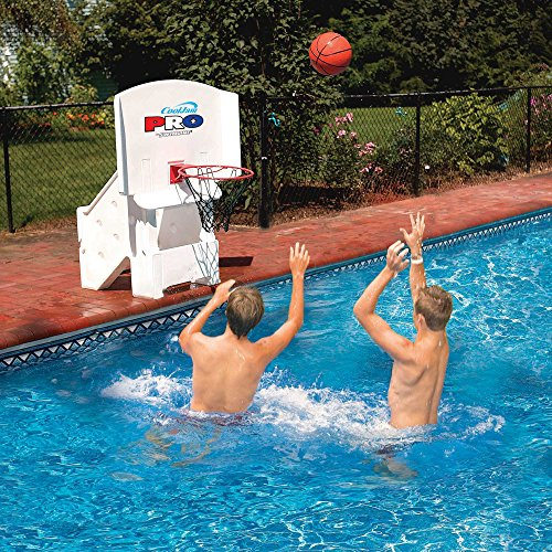 - Swimline Cool Jam Pro Poolside Basketball Super-Wide