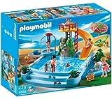 PLAYMOBIL 4858 - Piscina con tobogán + 4864 - Piscina infantil