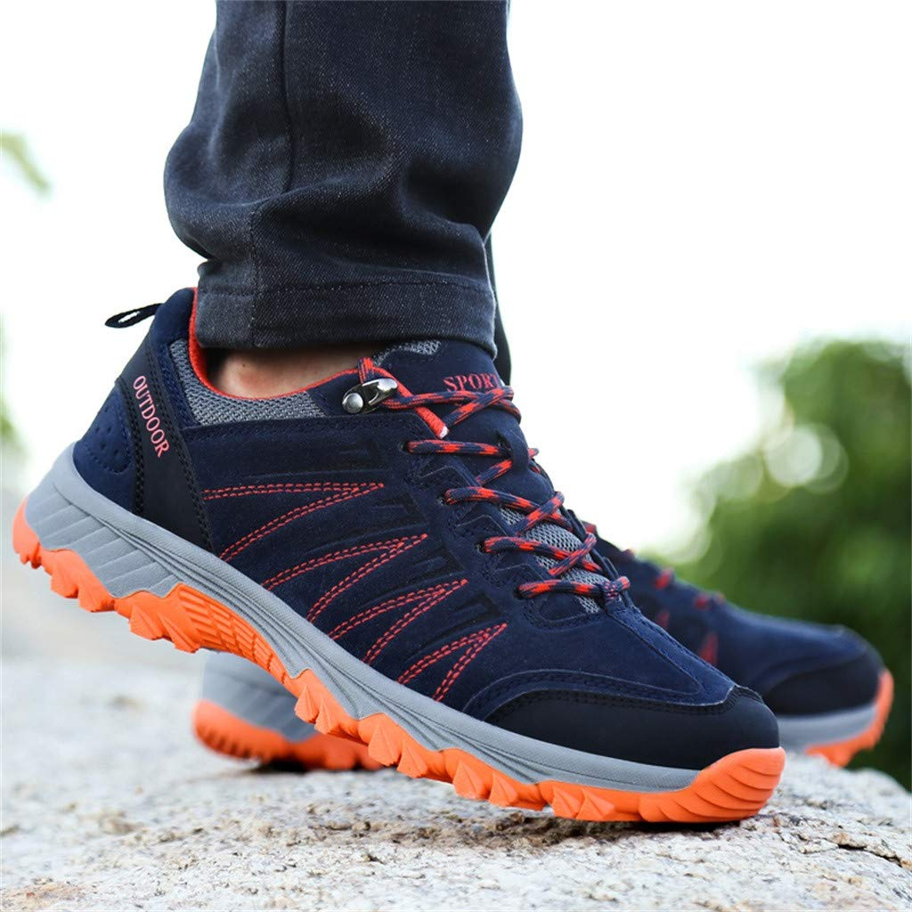 Bralonees Pair of Outdoor Shoes Non-Slip Wearable Leisure Mens Sneakers Womens Running Sports Road Lightweight