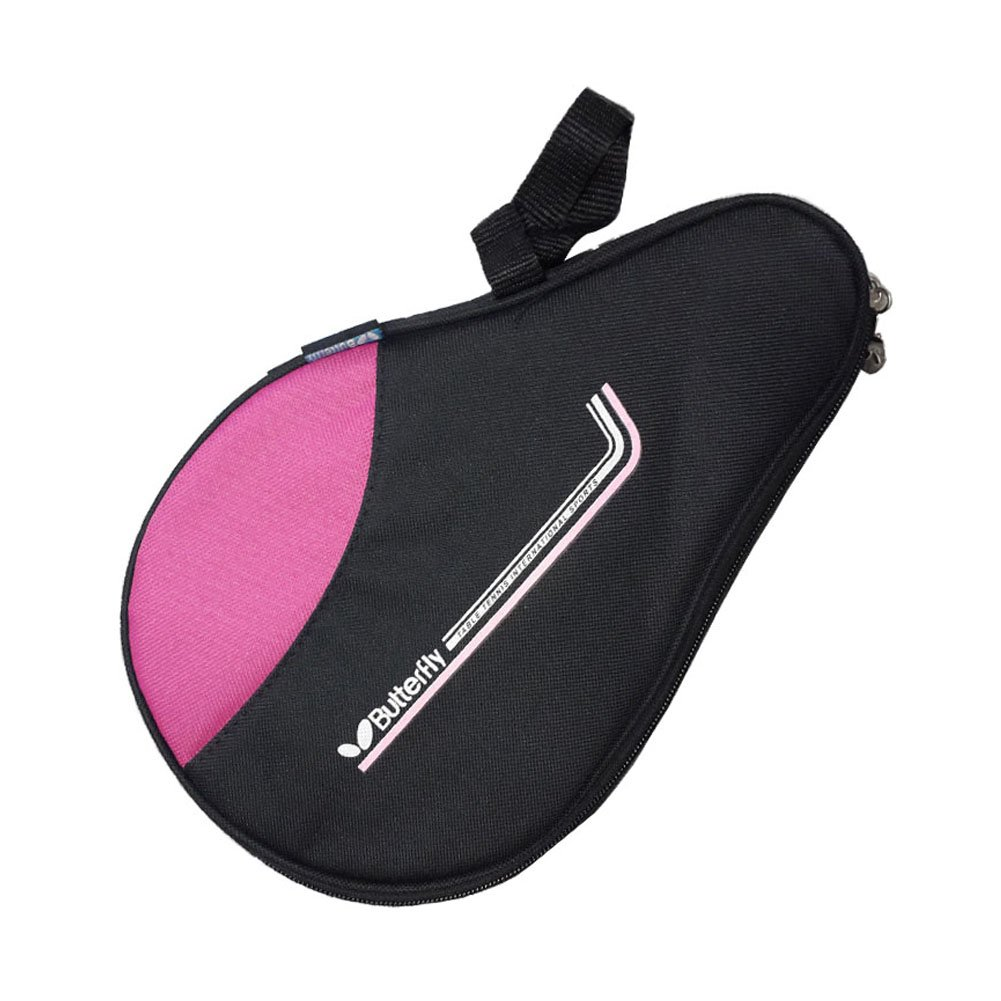 Table Tennis Racket Case PingPong Ping Pong Bat Cover Paddle Bag - Pink