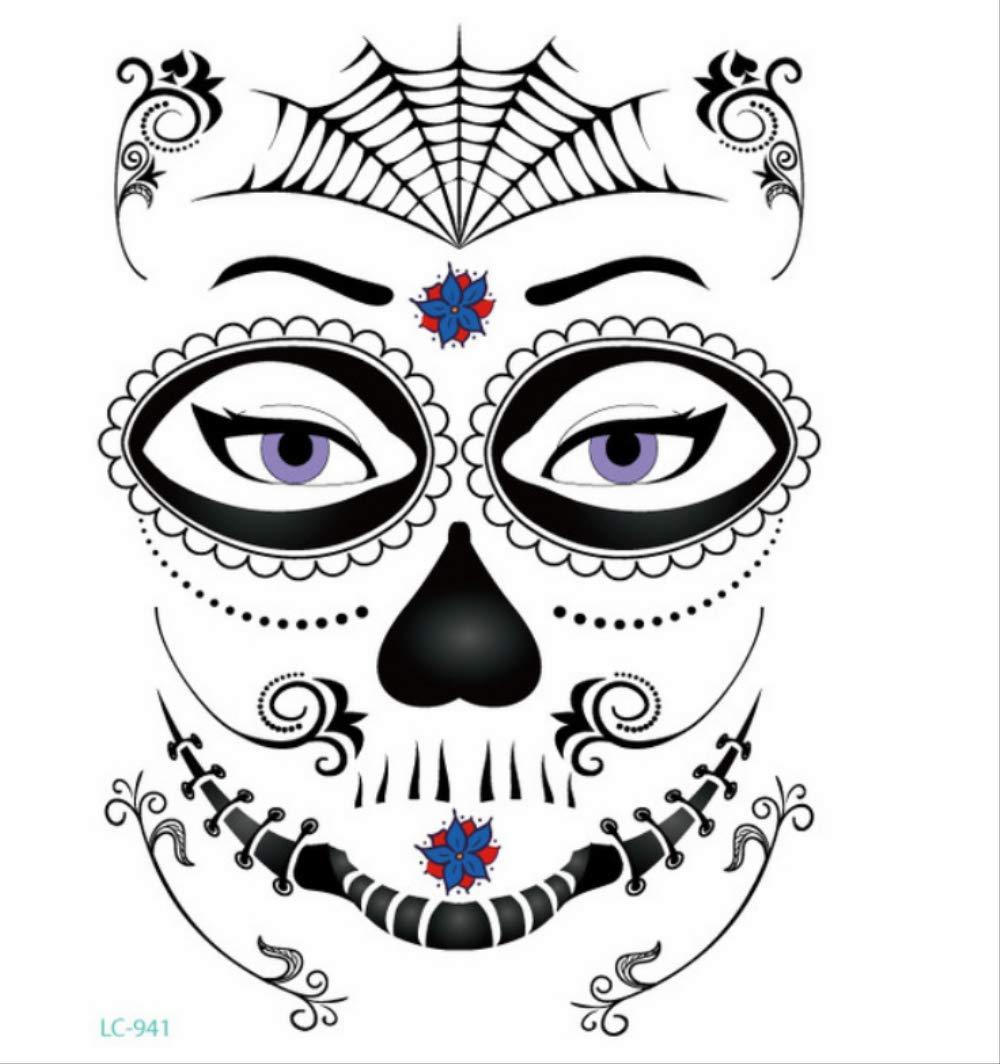 MAGRF Día Mexicano de la máscara de Calavera de azúcar Halloween ...