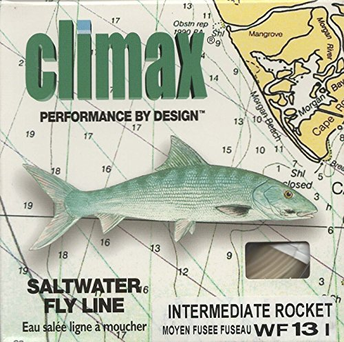 Climax Saltwater Fly Line Intermediate Rocket Taper WF13I