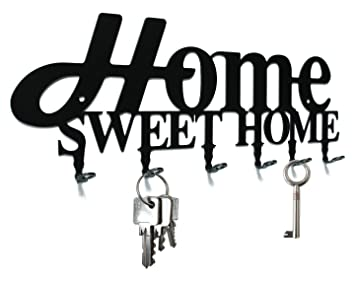 Key Holder   Home Sweet Home   Design   Beautiful Key Hook For Wall   6