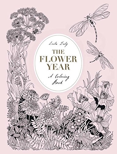 Flower Year Coloring Book product image
