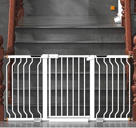 HFYAK Bebé Puerta Escalera Guardia Seguridad Herramientas para Mascotas Al Aire Libre Instalar En Cualquier Lugar Escaleras Interiores Y Exteriores Balcón O Patio 78cm Alto: Amazon.es: Hogar