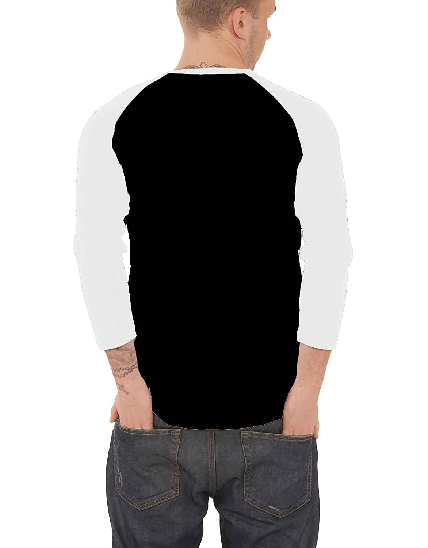 Friday The 13Th T Shirt Hockey Mask Official Mens Black Baseball 3//4 Sleeve