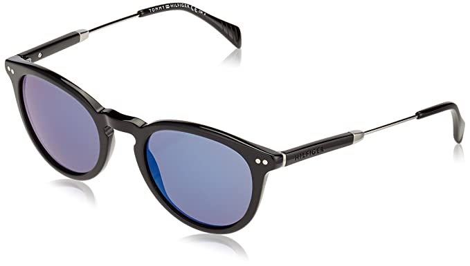 Tommy Hilfiger TH 1198/S XT Gafas de sol, Black Ruthen, 51 ...