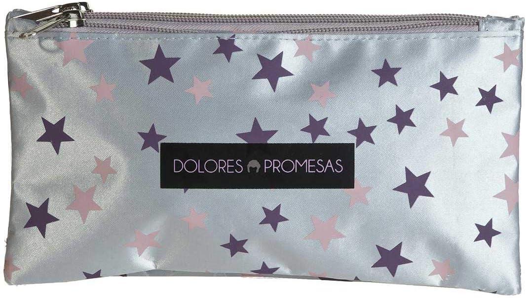 Busquets Estuche Escolar Triple Estrellas Dolores PROMESAS: Amazon.es: Juguetes y juegos