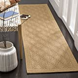 Safavieh Palm Beach Collection PAB351M Maize Sisal & Jute Runner (2' x 8')