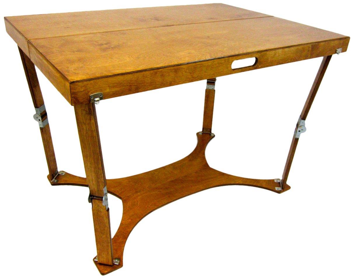 Spiderlegs Folding Picnic/Project Table, 42-Inch, Warm Oak