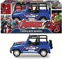 Capitão América Carro de Controle Remoto 7 Funções