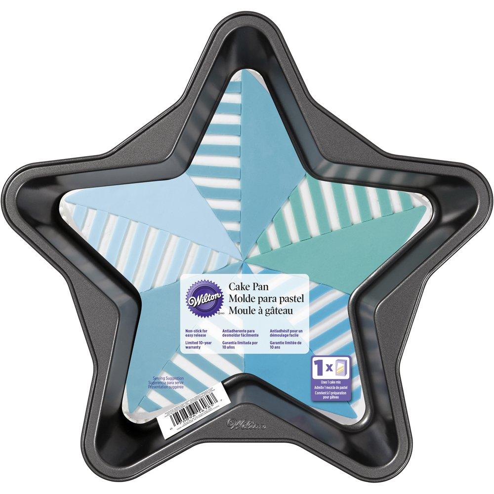 Wilton 2105-6185 Star-Shaped Cake Pan