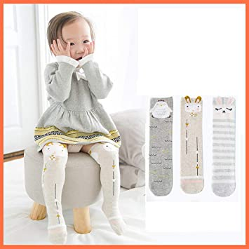 b6d4a8e2b Image Unavailable. Image not available for. Color  YeahiBaby Baby Girl Knee  High Socks ...