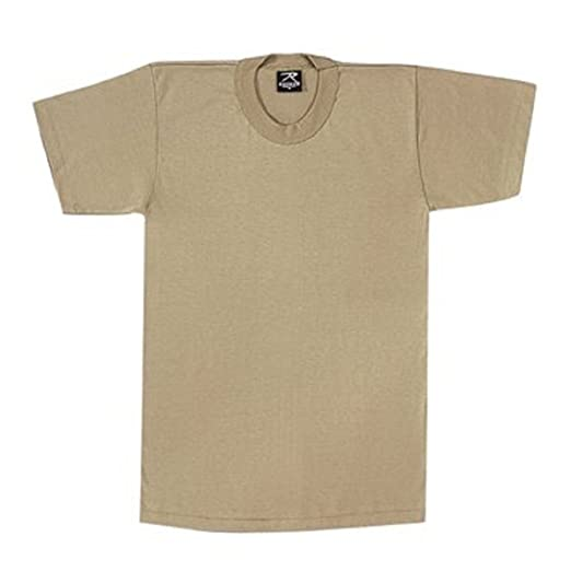 Amazon.com  8570 100% COTTON DESERT SAND T-SHIRT XLARGE  Military ... 52f63179a72