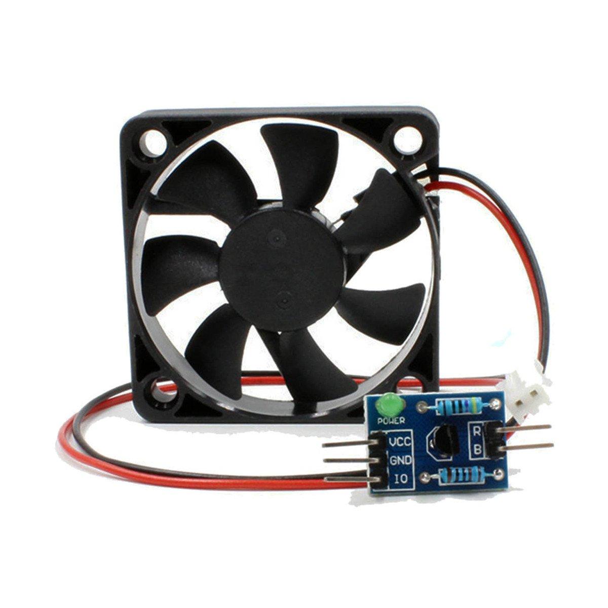 Circuit board Motor Speed Regulating Fan Module+Driving Board for Arduino