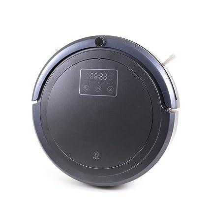 QETU 277S Robot Aspirador, Barrendero Anticolisión, Ultravioleta Inteligente del Hogar De La Desinfección,