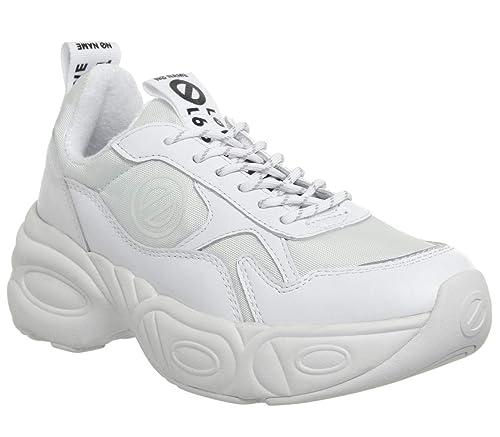 No Name Hentage FNUAN10401, Zapatillas Deportivas, Mujer, Blanco: Amazon.es: Zapatos y complementos