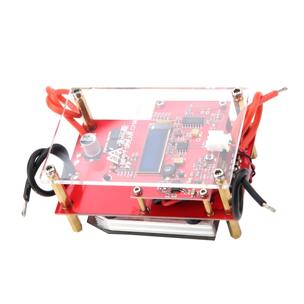 10A MPPT 3S/4S LiFePO4 Solar Panel Controller Lithium Battery Charging Board(4S LiFePO4 Battery)