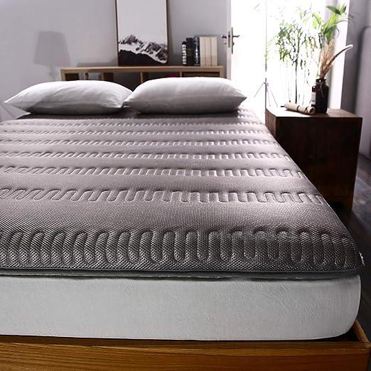 ACZZ Cojín de colchón de dormitorio transpirable, futón ...