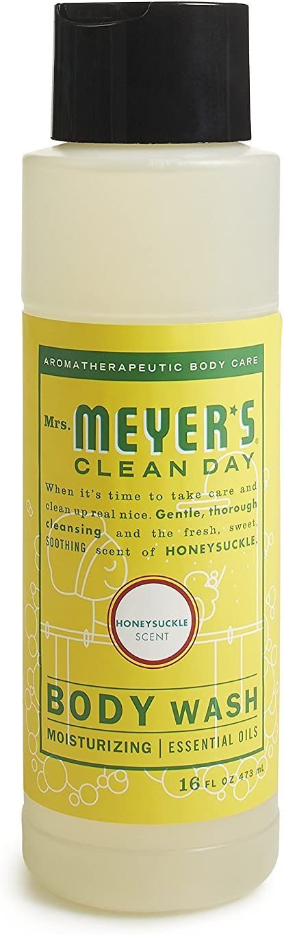 Mrs. Meyer´s Clean Day Body Wash, Honeysuckle, 16 fl oz