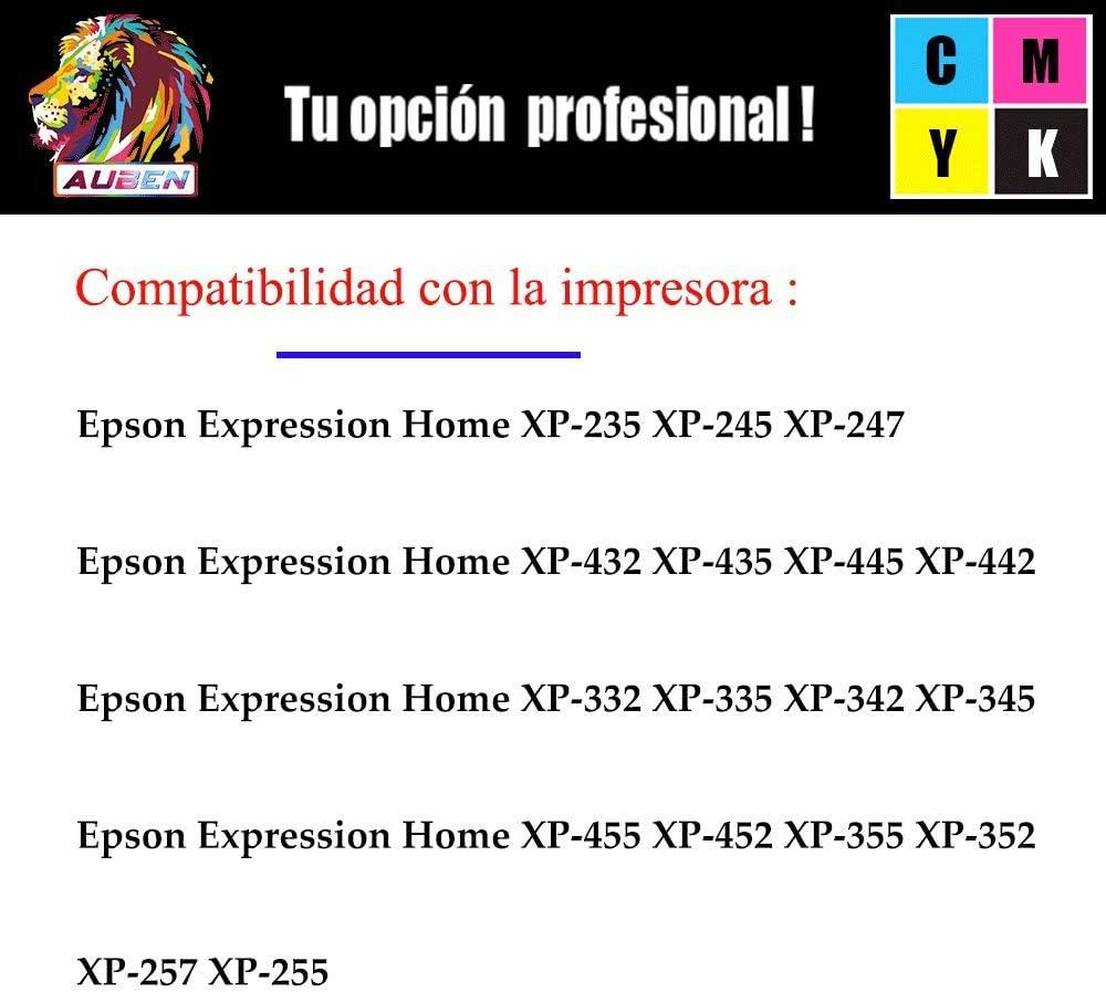 AUBEN 29XL para Epson 29 Cartuchos de Tinta 6 Compatibles con ...