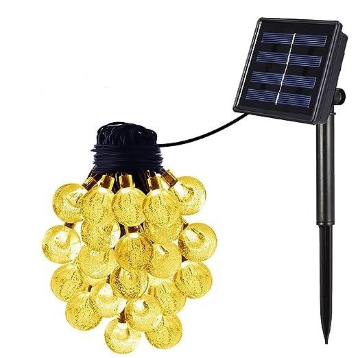 14 opinioni per OxyLED SL50 solar string lights (30 transparent balls) warm white light