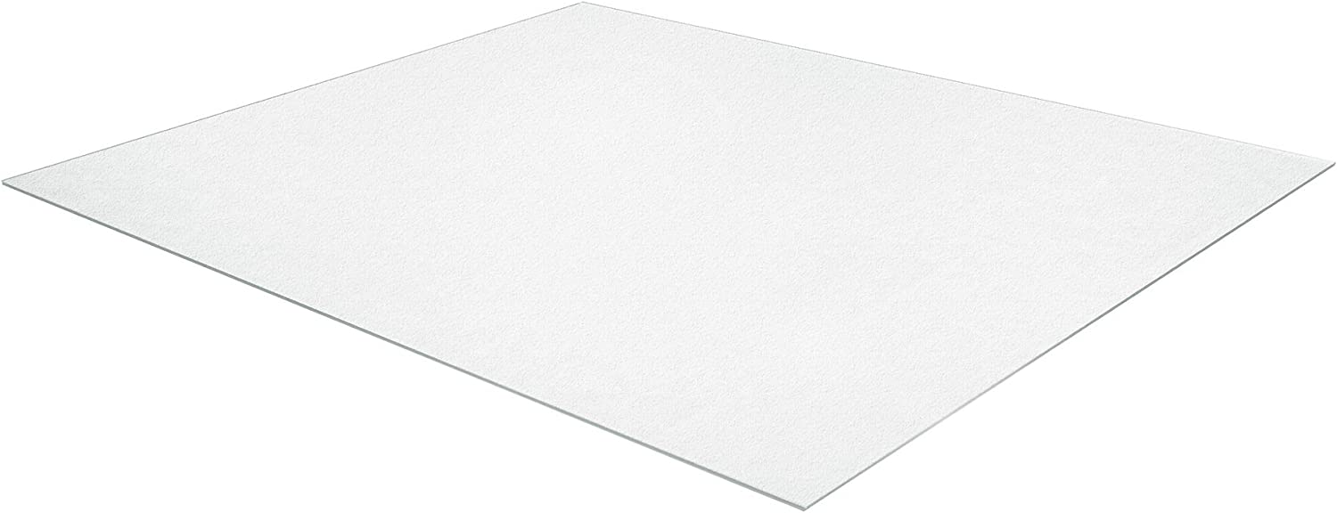 "AmazonBasics Polycarbonate Extra Large Chair Mat for Hard Floors - 59"" x 79"""