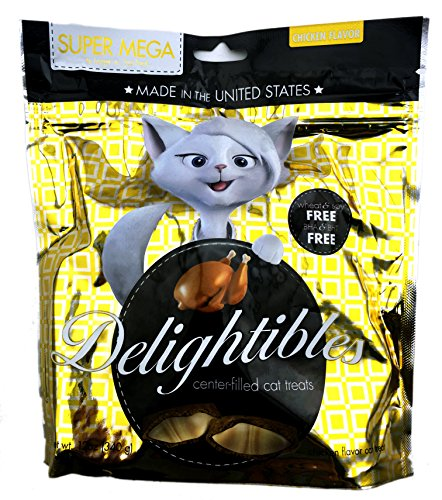 Bundle-Pack-of-Two-2-Delightibles-Super-Mega-12-oz-Chicken-Flavored-Center-Filled-Cat-Treats