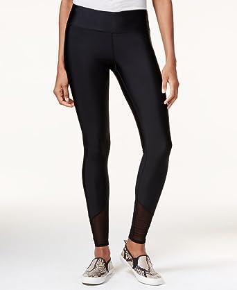93d754c28790b4 Guess Womens Mesh Inset Stretch Yoga Legging - Black -: Amazon.co.uk ...