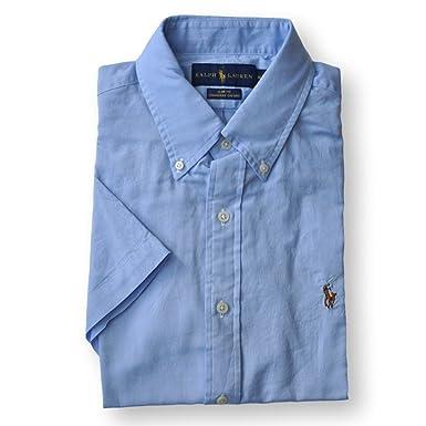 91a90032c4 Ralph Lauren Men Slim Fit Chambray Oxford Button-Down Shirt (XXL ...