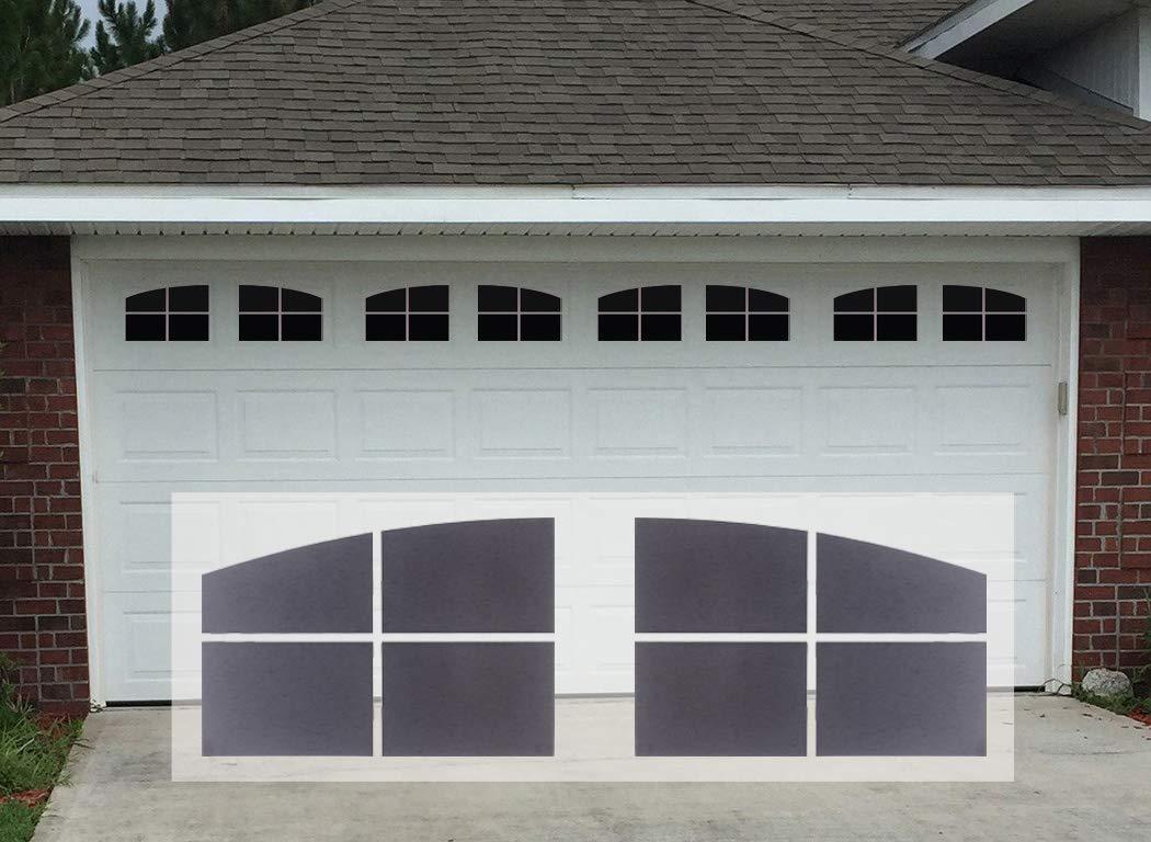 Sanfurney Magnetic Garage Door Windows Panes Arch