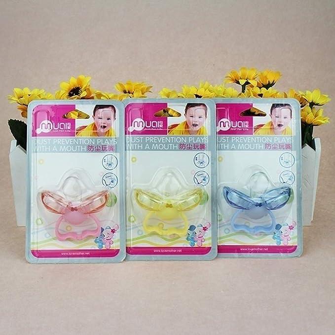 L-DiscountStore Chupete de bebé pezón anti-polvo silicona ...