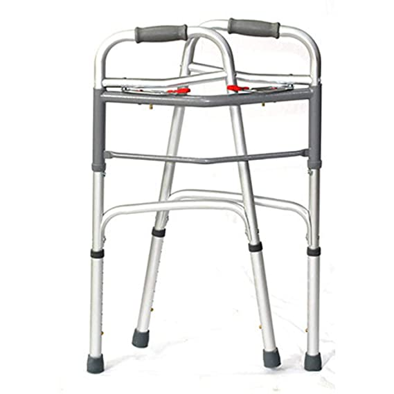 ZHAS Andador Mayor, Andador con Estructura de Aluminio Plegable ...