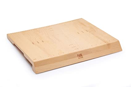 Kitchencraft Paul Hollywood Large Non Slip Wooden Pastry Board With Measurements 45 X 38 Cm 175 X 15