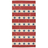 Ollabaky Stars Stripes Hand Towels Fingertip Towels Super Soft Breathable Absorbent Multipurpose Face Towels for…