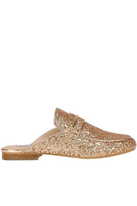 Steve Madden Mujer Mcglcab000005069e Rosa Purpurina Mocasín: Amazon.es: Zapatos y complementos