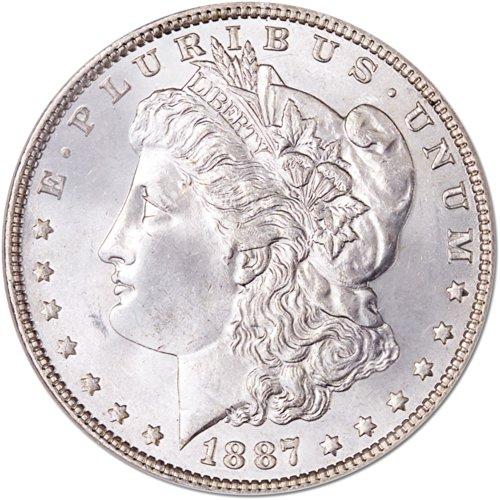 1887 Morgan Dollar NGC MS67
