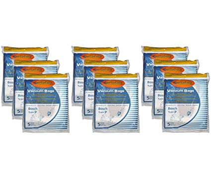 Amazon.com - 45 Bosch Allergy TYPE P Bags, Premium, Ergomaxx ...