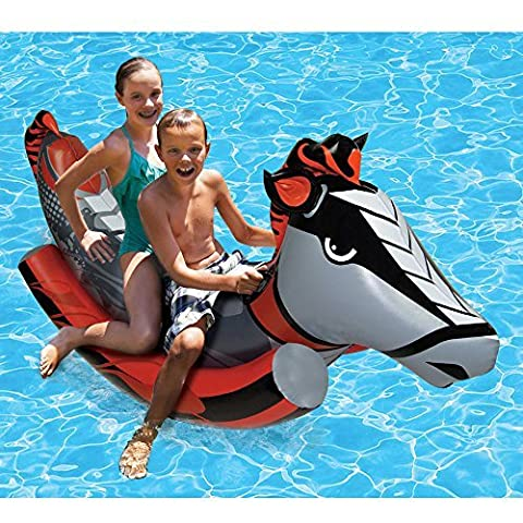Poolmaster 2-Person Rockin' Horse Inflatable Swimming Pool Float - Seahawk 200 Inflatable Boat