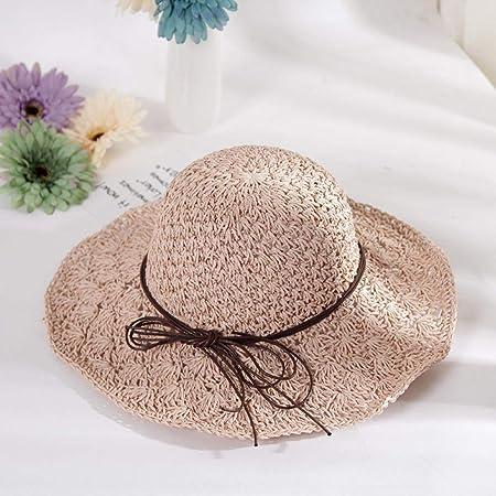 Fzwang Crochet el Sombrero de Ventilador Hueco Grande a lo Largo ...