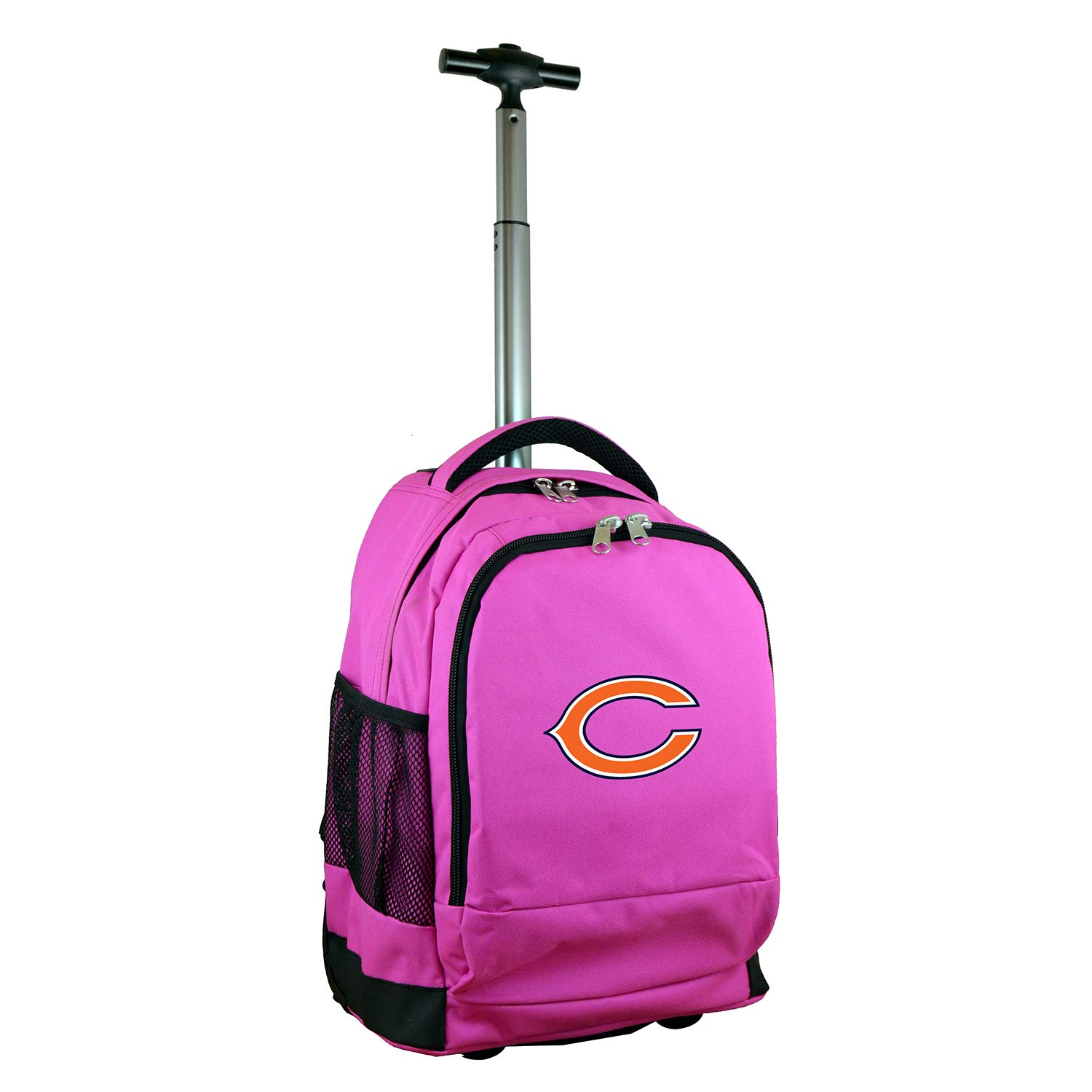 (Chicago Bears) - NFL Expedition Wheeled Backpack, 48cm , Pink B01MFFQ7QG