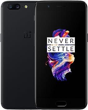 OnePlus 5 A5000 – Smartphone, 8 GB RAM + 128 GB, 5,5 pulgadas, versión internacional, color negro: Amazon.es: Electrónica