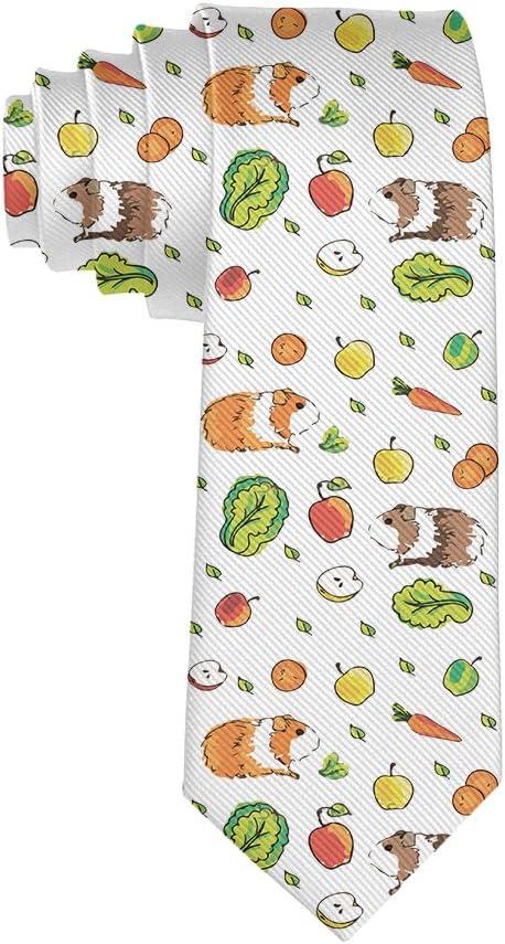 MrDecor - Corbata para Hombre, diseño de cobayas y Zanahorias ...