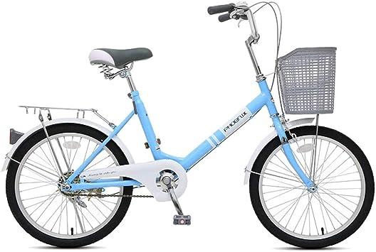 MLSH Bicicleta Retro Moderna y portátil de 20 ′, Bicicleta de ...