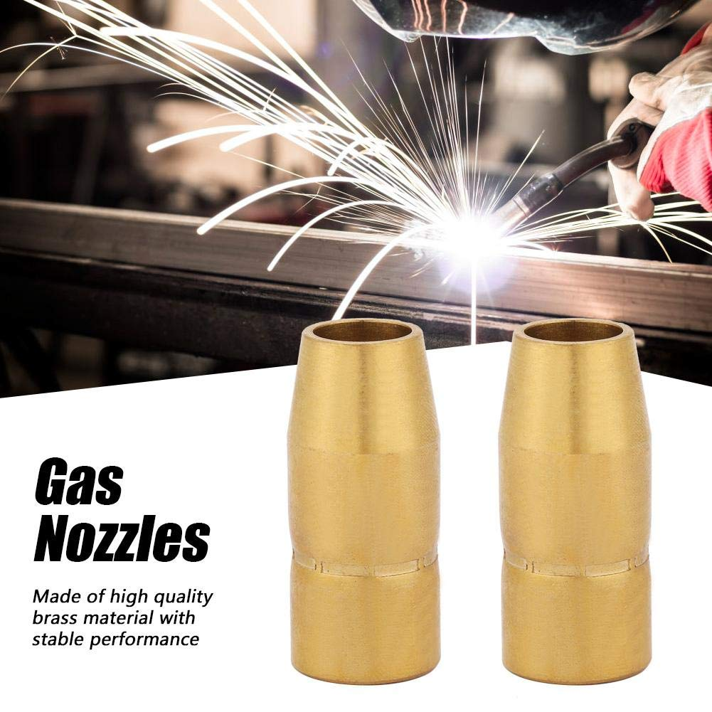 Gas Nozzles 169715 Fit for M-10 M-15 M-100 and M-150 Welding Guns for Replaceable Parts 2PCS Welding Torch Nozzle