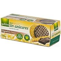 Gullón - Galleta Digestive chocolate, sin azúcar, Diet Nature Caja, 270g